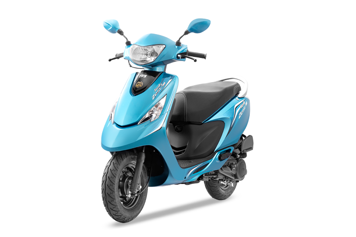 TVS Scooty Zest - 360 degree view