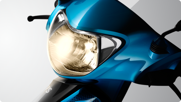 TVS Scooty Zest 110 MFR headlamp
